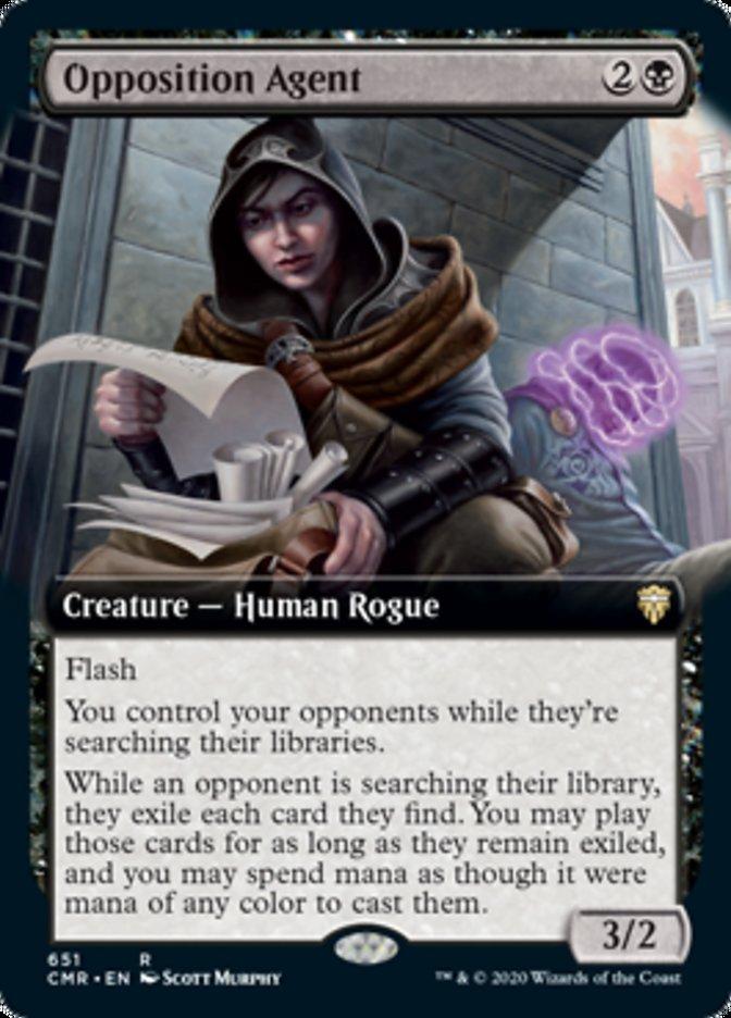 Opposition Agent (Extended Art)