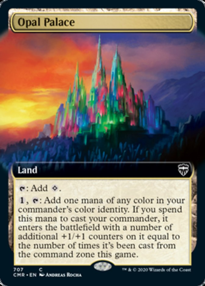 Opal Palace (Extended Art)