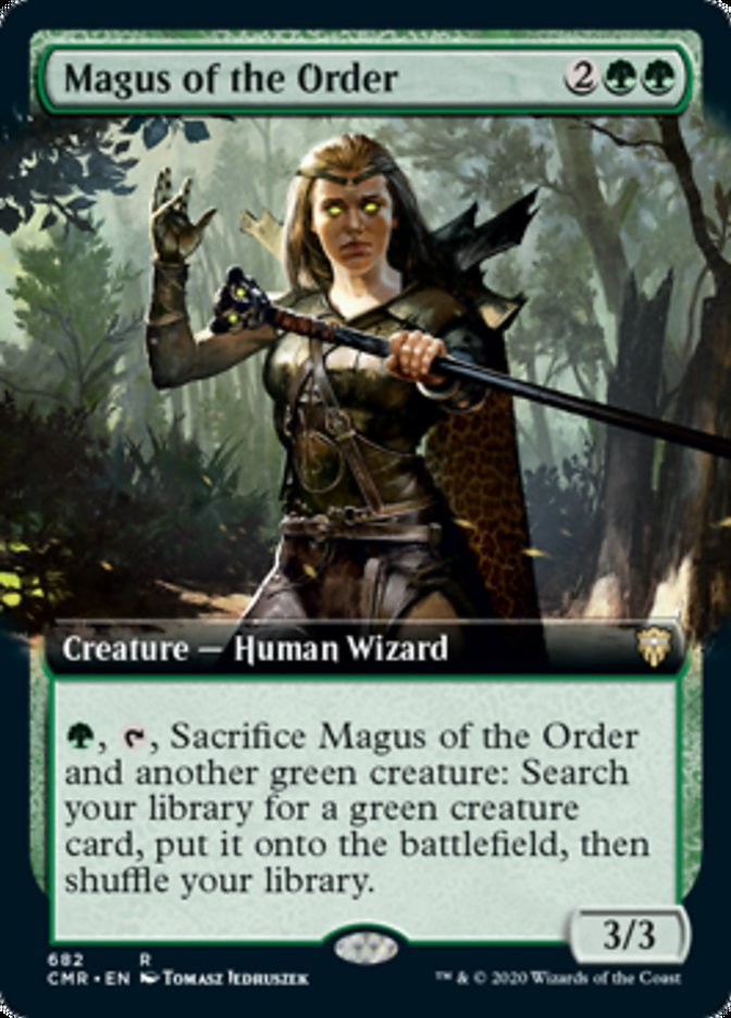 Magus of the Order (Extended Art)
