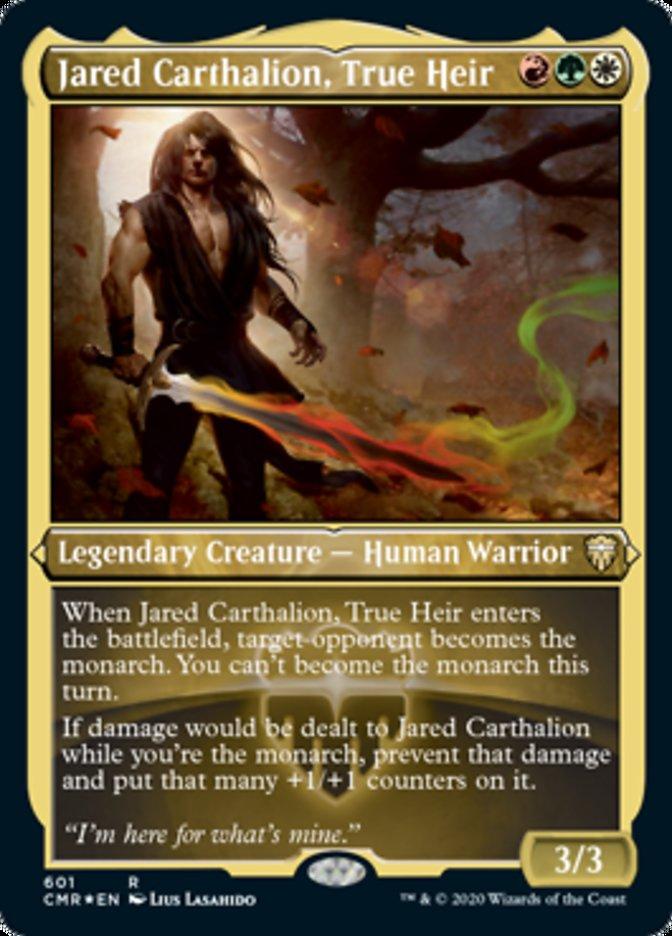 Jared Carthalion, True Heir (Foil Etched)
