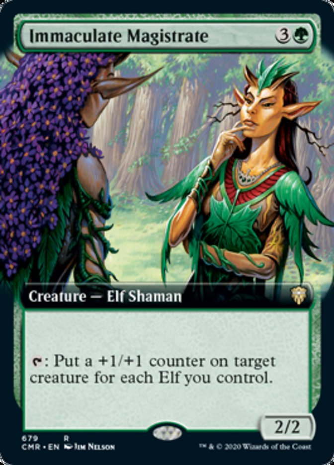 Immaculate Magistrate (Extended Art)