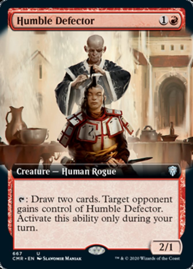 Humble Defector (Extended Art)