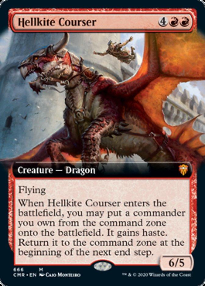 Hellkite Courser (Extended Art)