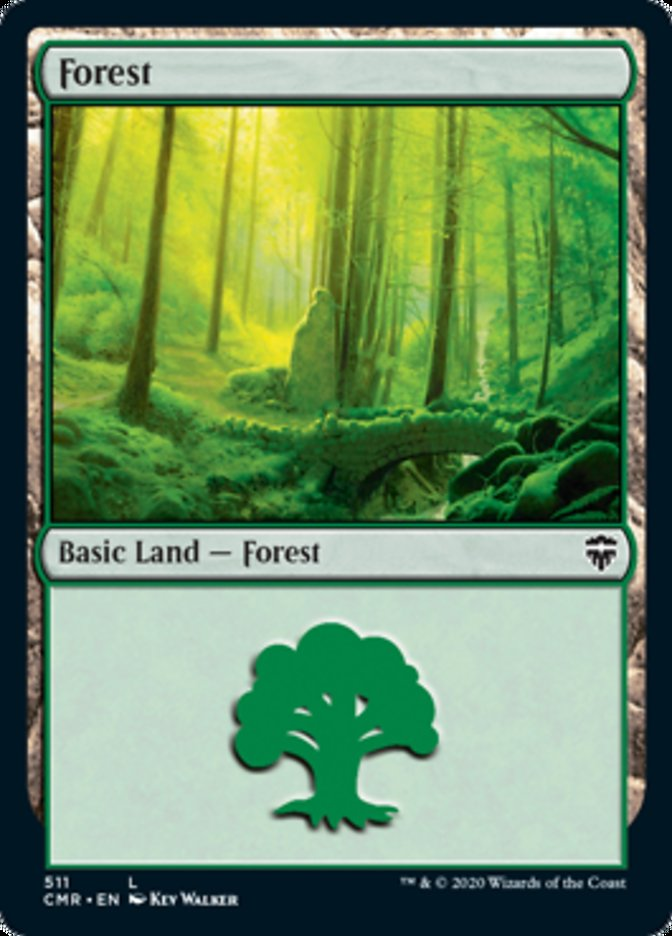 Forest (511) card from Commander Legends