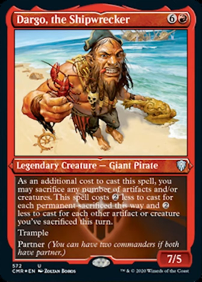 Dargo, the Shipwrecker (Foil Etched)