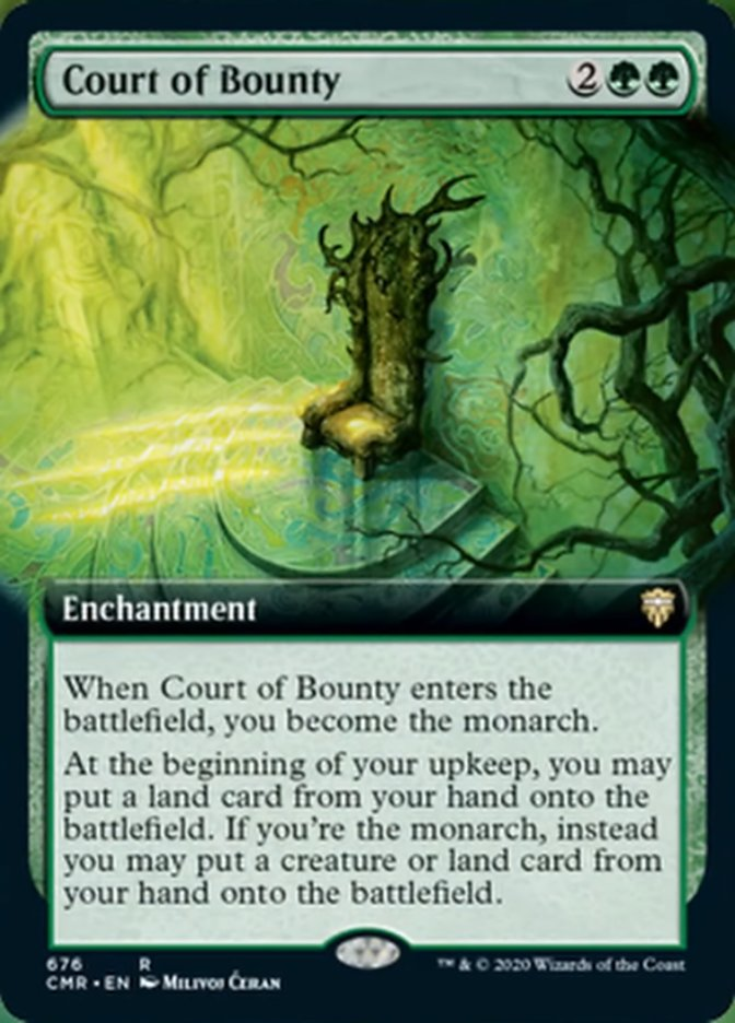 Court of Bounty (Extended Art)