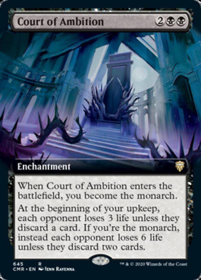 Court of Ambition (Extended Art)