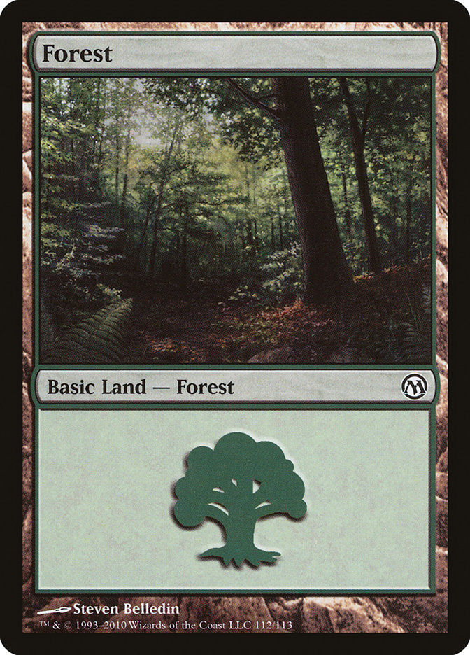 Forest (112) card from Duels of the Planeswalkers