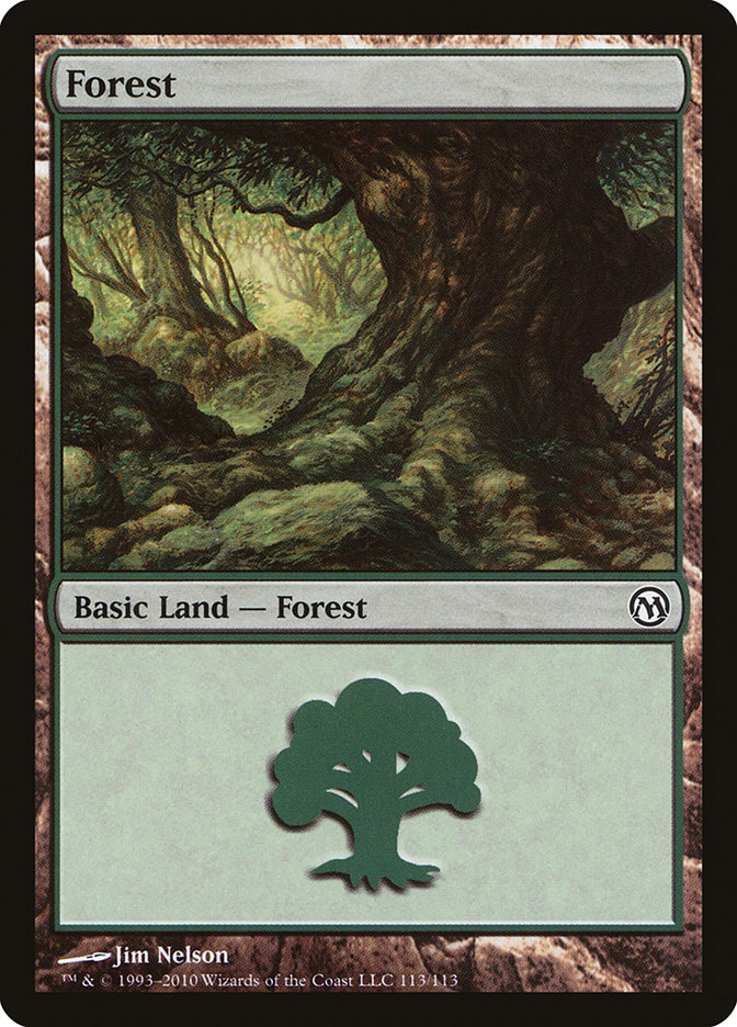 Forest (113) card from Duels of the Planeswalkers