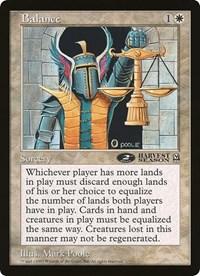 Balance (Oversized) card from Oversize Cards