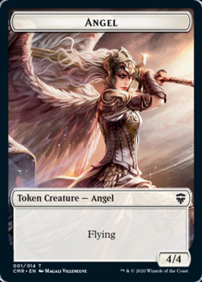 Angel // Soldier Double-sided Token