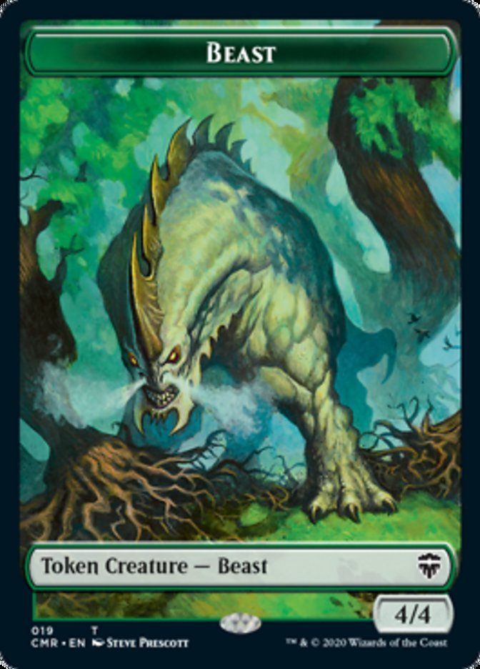 Beast (019) // Elephant Double-sided Token