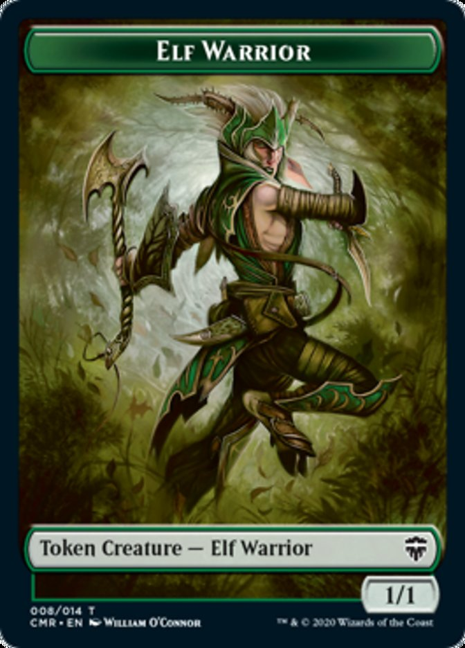 Elf Warrior // The Monarch Double-sided Token