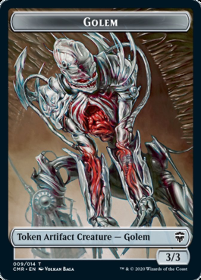 Golem // The Monarch Double-sided Token