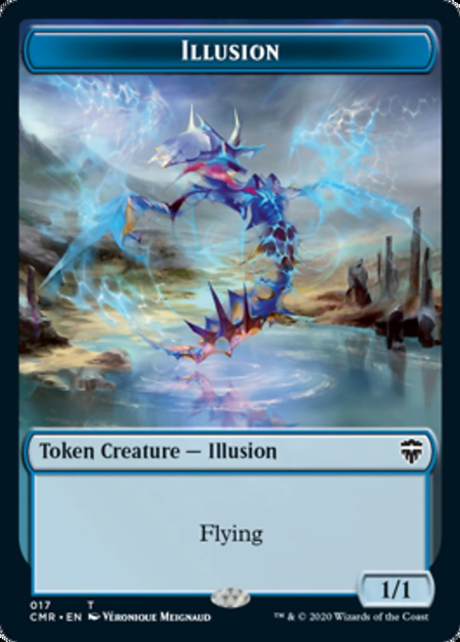 Illusion // Plant Double-sided Token