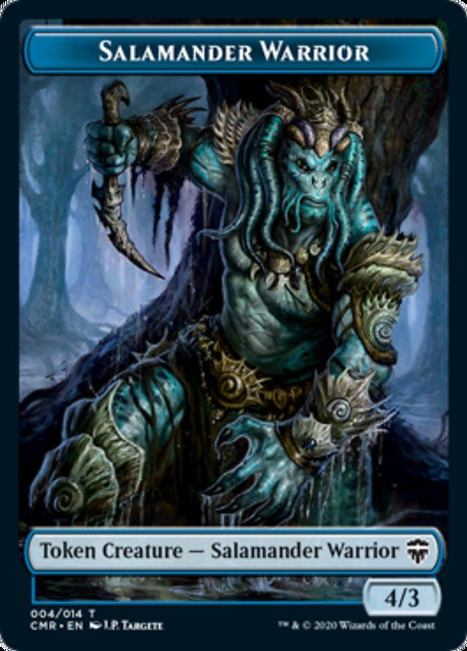 Salamander Warrior // Thrull Double-sided Token