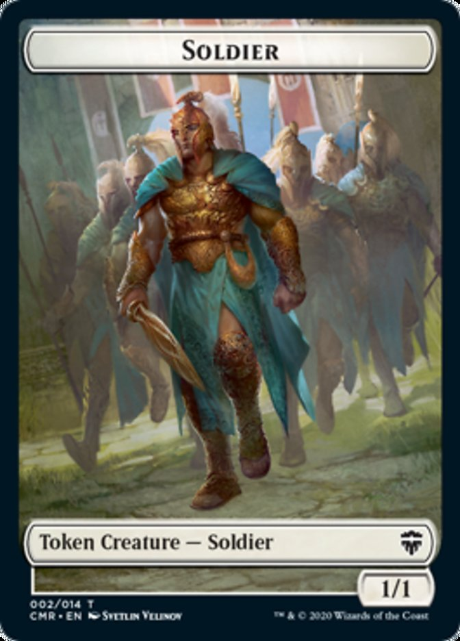 Soldier // Thrull Double-sided Token