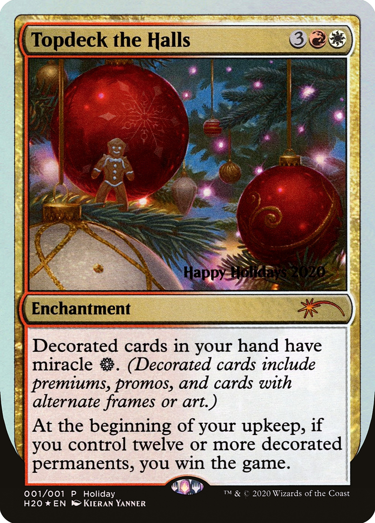 Topdeck the Halls