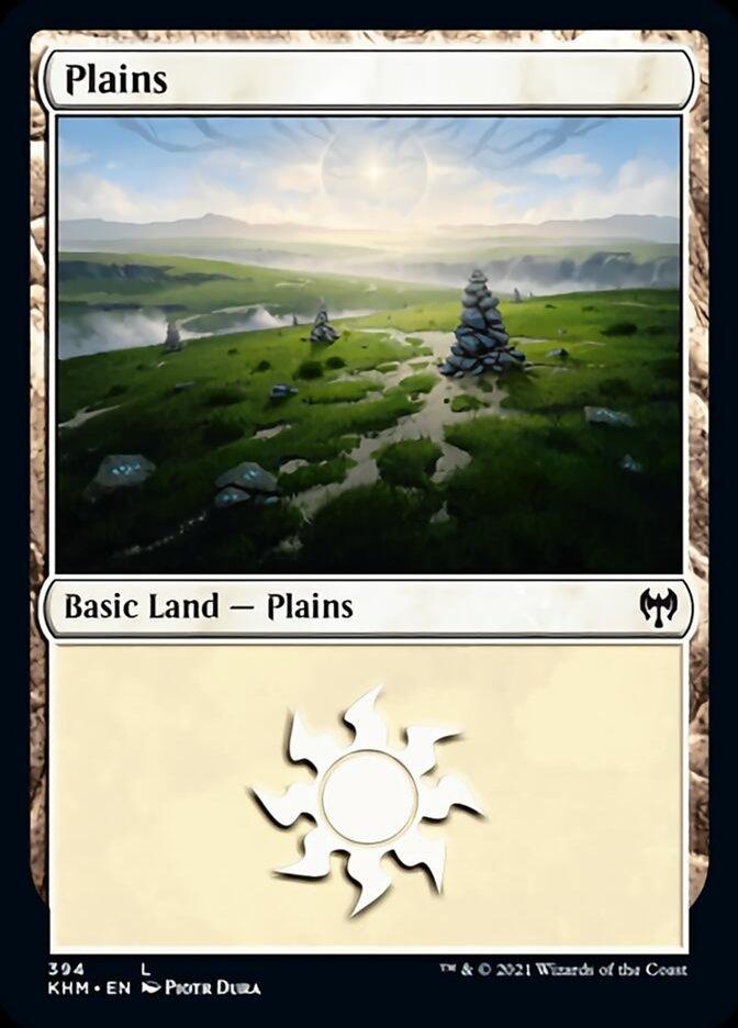 Plains card from Kaldheim