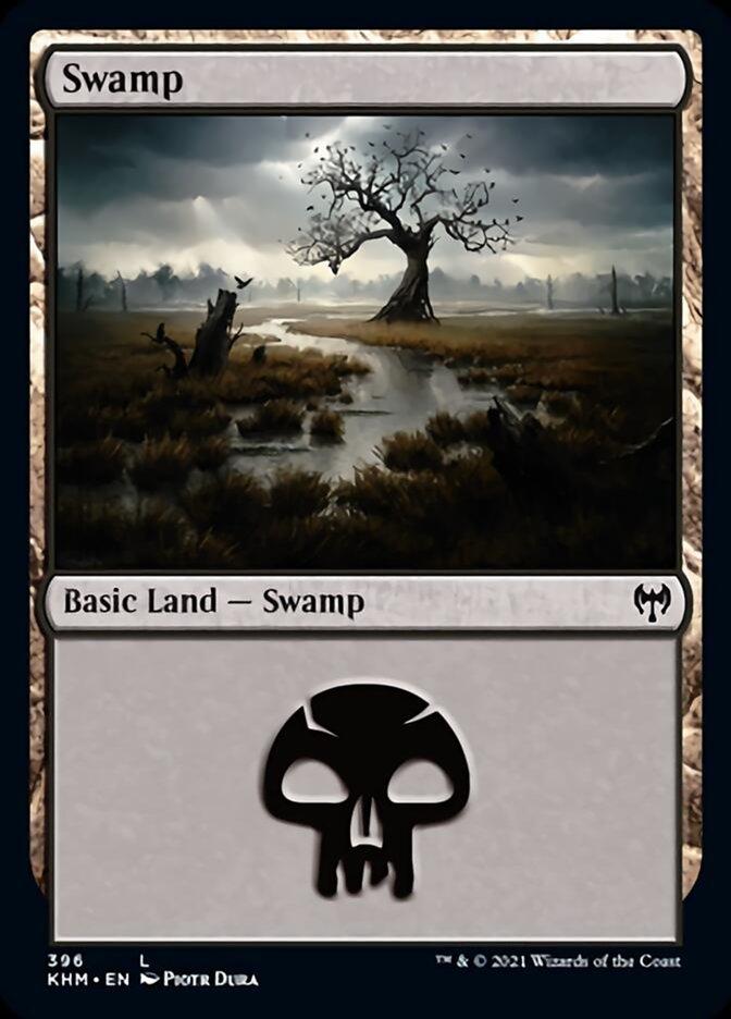 Swamp card from Kaldheim