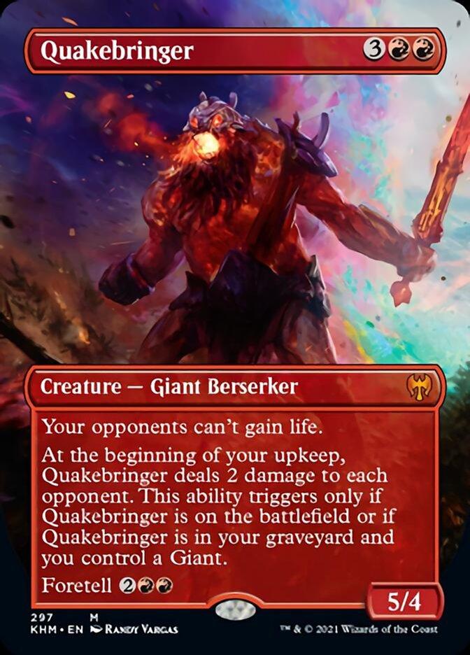 Quakebringer (Borderless)