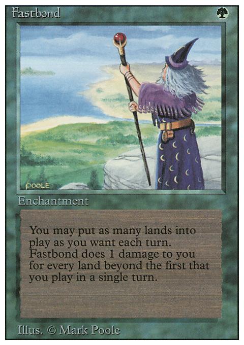 Fastbond original card image