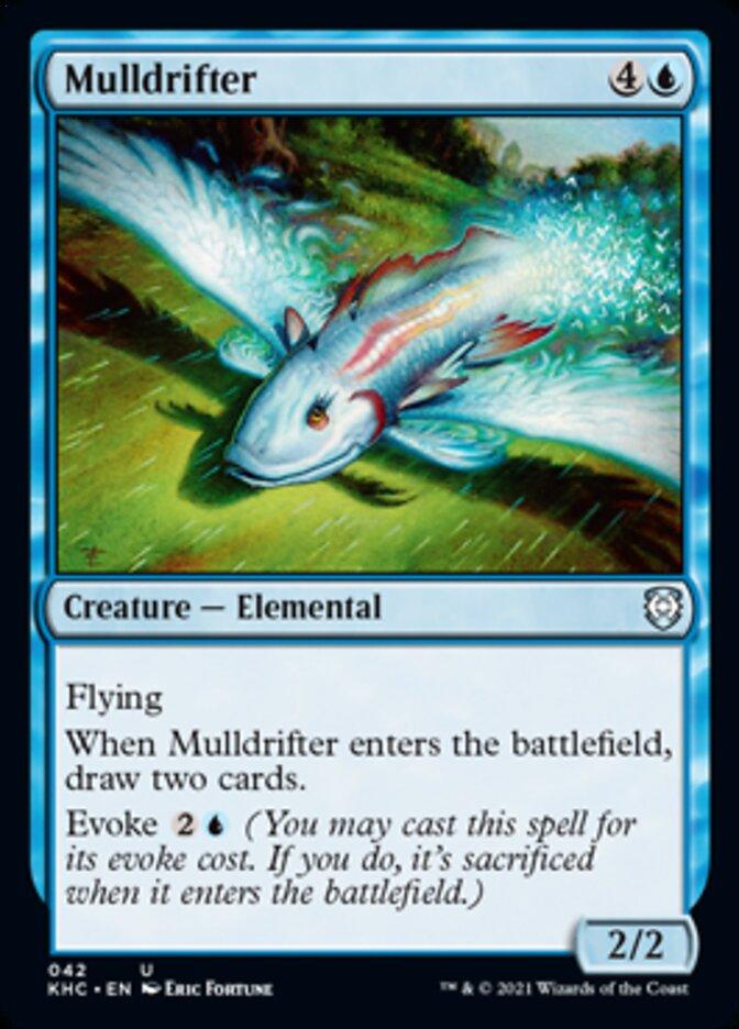 Mulldrifter card from Commander: Kaldheim