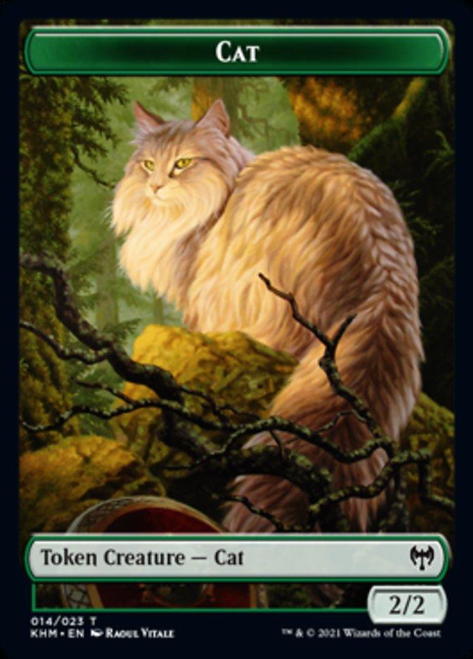 Cat Token card from Kaldheim
