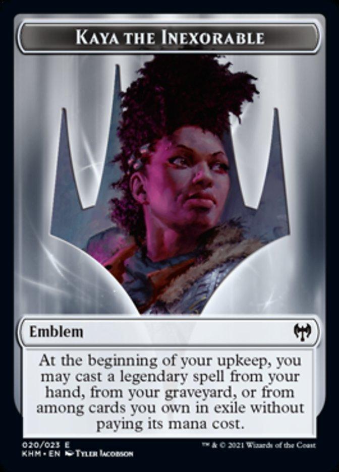 Emblem - Kaya the Inexorable