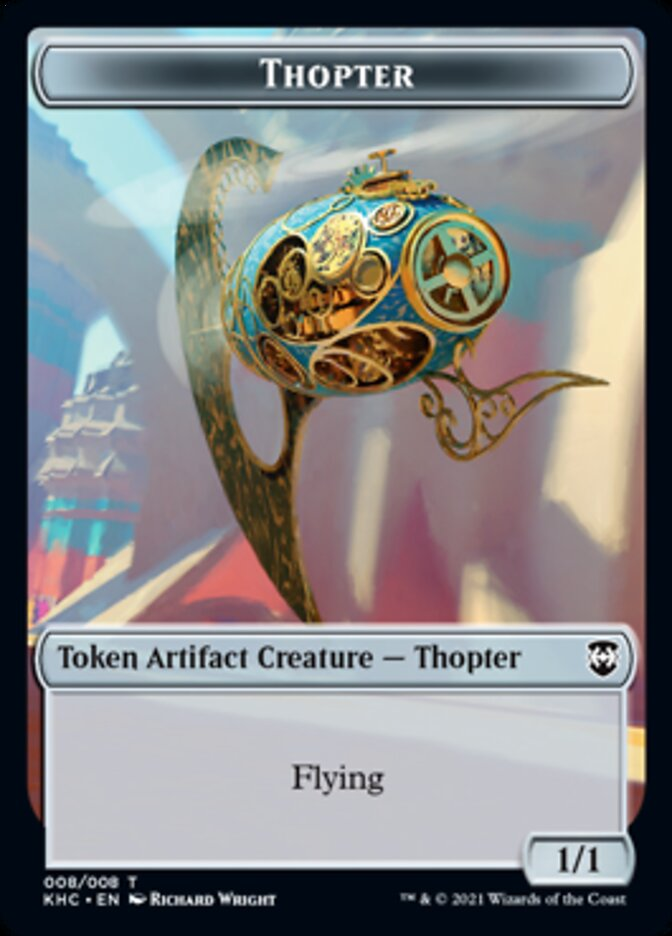 Dragon // Thopter Double-sided Token