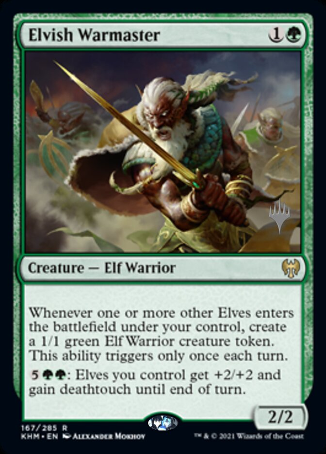 Elvish Warmaster
