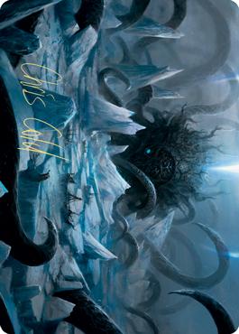 Icebreaker Kraken Art Card (Gold-Stamped Signature)