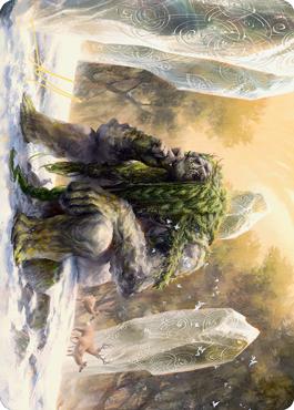 Svella, Ice Shaper Art Card (Gold-Stamped Signature)