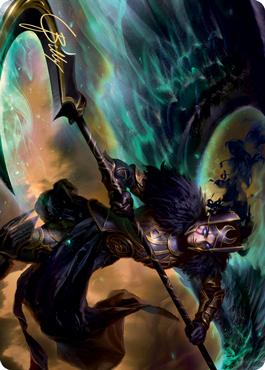 Vengeful Reaper Art Card (Gold-Stamped Signature)
