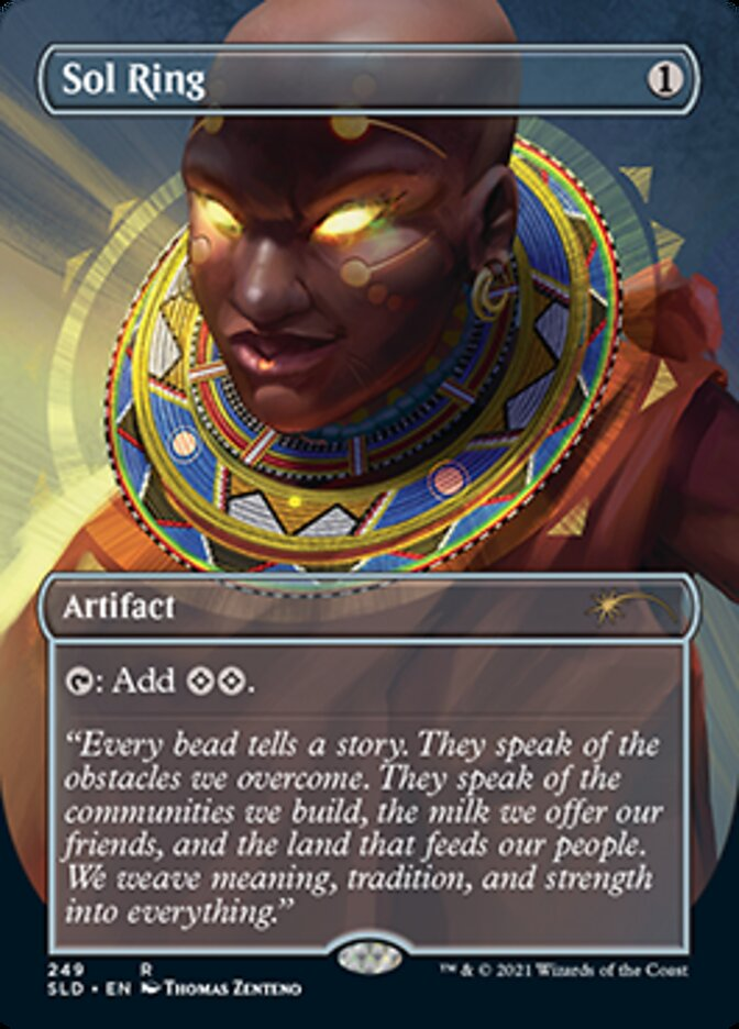 Sol Ring card from Secret Lair Drop Series