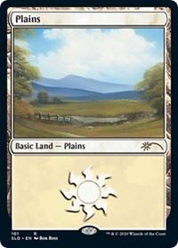 Plains (101) (Bob Ross) card from Secret Lair Drop Series