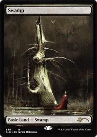 Swamp (539) (Seb Mckinnon) card from Secret Lair Drop Series