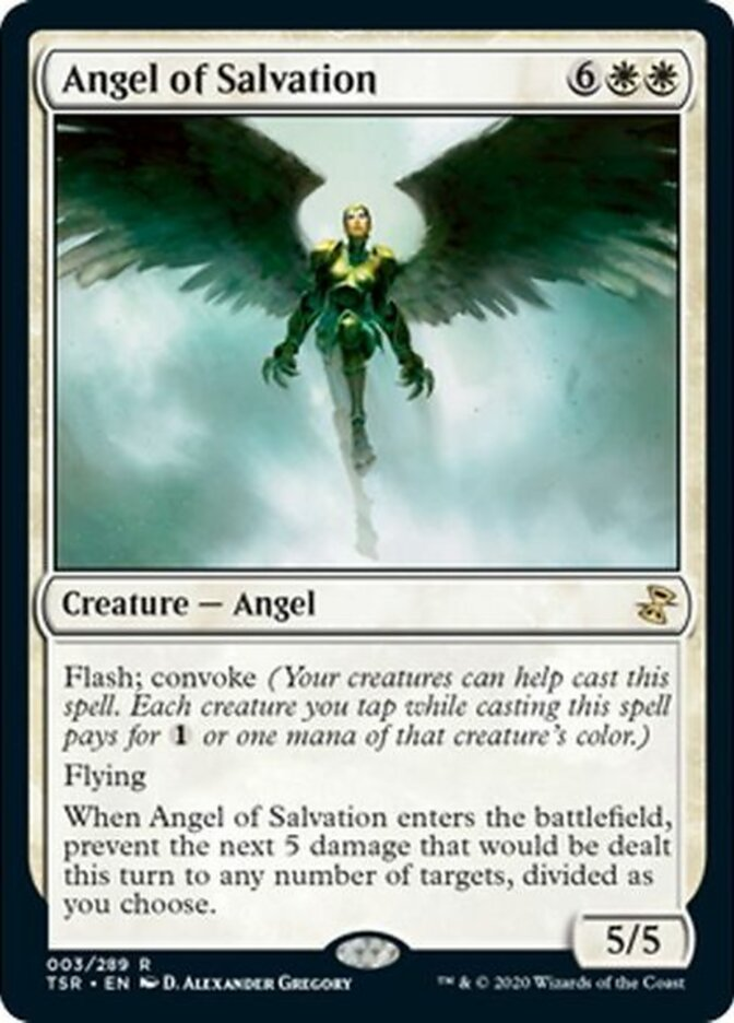 Angel of Salvation card from Time Spiral Remastered