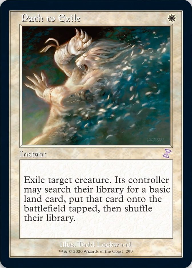 Path to Exile card from Time Spiral Remastered