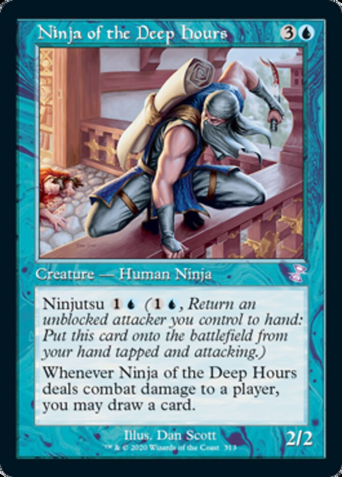 Ninja of the Deep Hours card from Time Spiral Remastered