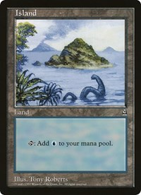 Island (Oversized) card from Oversize Cards