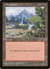 Mountain (Oversized) card from Oversize Cards
