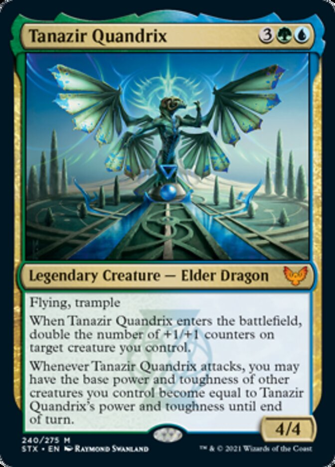 Tanazir Quandrix card from Strixhaven: School of Mages