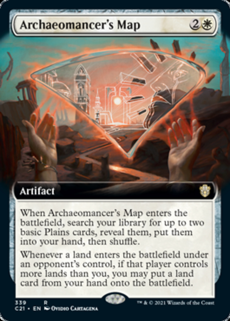 Archaeomancer's Map (Extended Art)