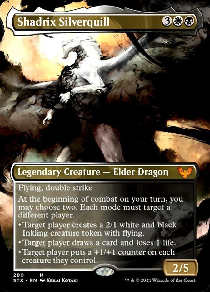 Shadrix Silverquill (Borderless)
