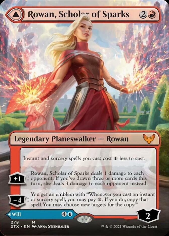 Rowan, Scholar of Sparks (Borderless)