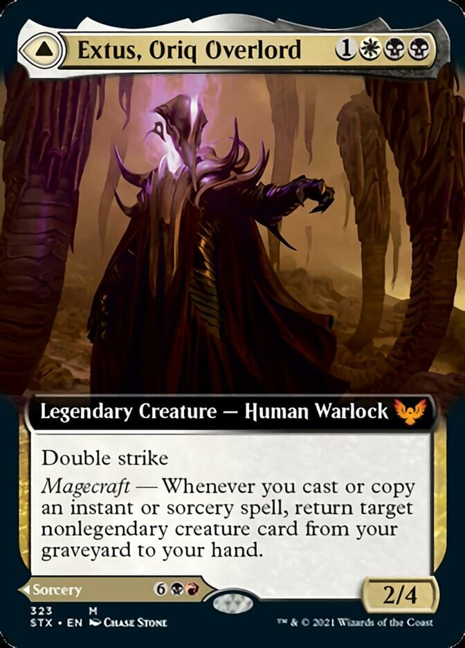Extus, Oriq Overlord (Extended Art)
