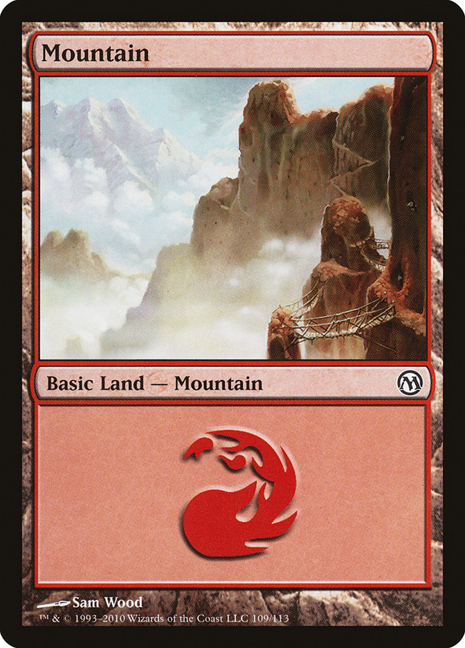 Mountain (109) card from Duels of the Planeswalkers