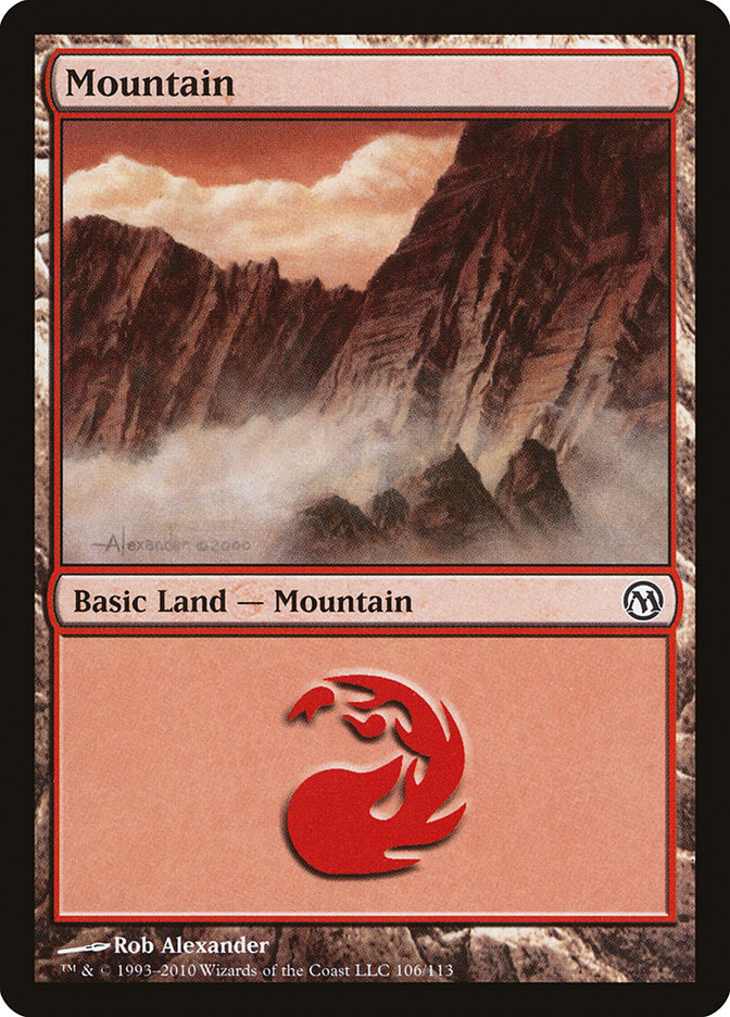 Mountain (106) card from Duels of the Planeswalkers