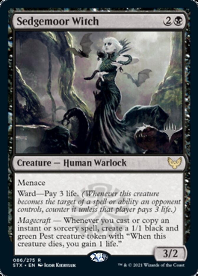 Sedgemoor Witch card from Promo Pack: Strixhaven